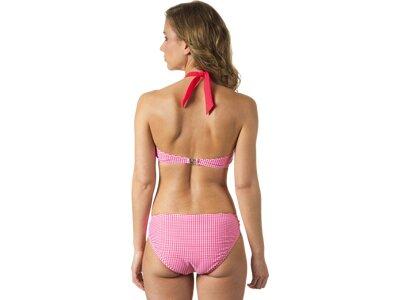 etirel Damen Bikinioberteil D-Bikini-OT Meg houndstooth Pink