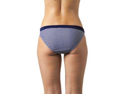 etirel Damen Bikinihose D-Bikinihose Milly houndstooth Blau