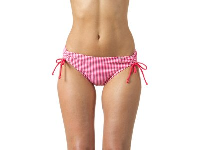 etirel Damen Bikinihose D-Bikinihose Moya houndstooth Rot