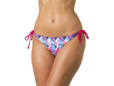 etirel Damen Bikinihose Mila Zig Zag Blau