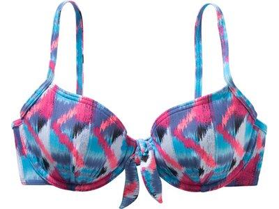 etirel Damen Bikinioberteil Mara Zig Zag Blau