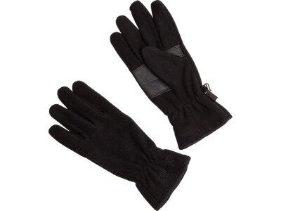 etirel Fleece-Handschuhe Gajaccio Schwarz