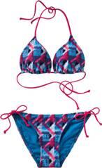 etirel Damen Bikini D-Bikini Rita Zig Zag M&M Set 2015