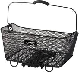 CYTEC Fahrradtasche Gepäckträgerkorb Carry More