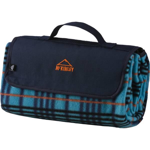 McKINLEY Picknickdecke RUG Fleece Blau
