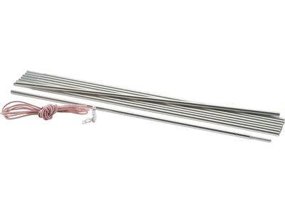 McKINLEY Zeltgestänge Universal Aluminium Silber