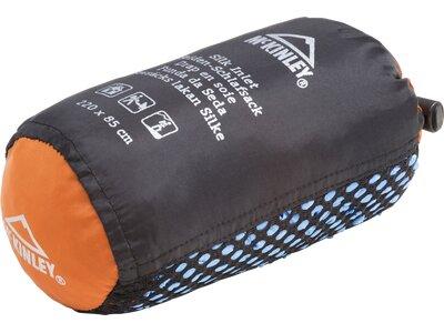 McKINLEY Schlafsack Mumien-Innenschlafsack Seide Blau