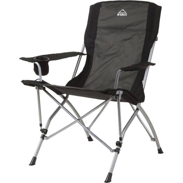 McKINLEY Camping-Faltstuhl Deluxe Pro Grau