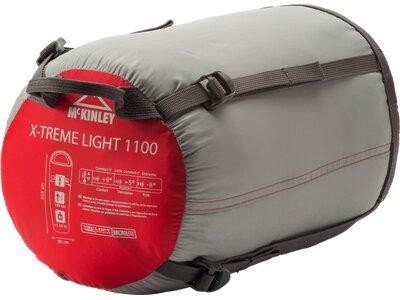 McKINLEY Schlafsack Mu-Schlafs.X-Treme Light 1100 II Rot