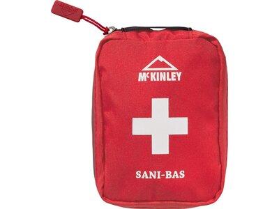 McKINLEY Erste Hilfe Set Sani-Bas Rot