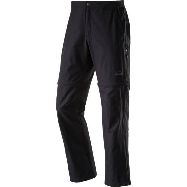 McKINLEY Herren Wanderhose / Zipp-Off-Hose Minden - Normalgröße   Bekleidung > Hosen > Outdoorhosen   Schwarz   McKINLEY