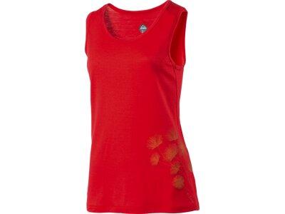 McKINLEY Damen Shirt D-Top Bafia Rot