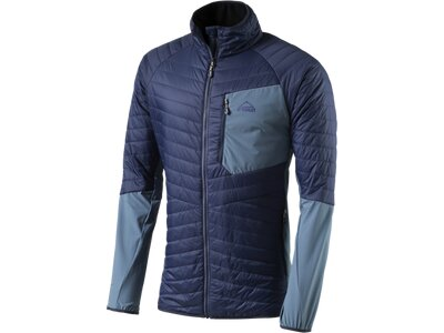 McKINLEY Herren Jacke Herren Hybridjacke Primaloft Zinder Blau