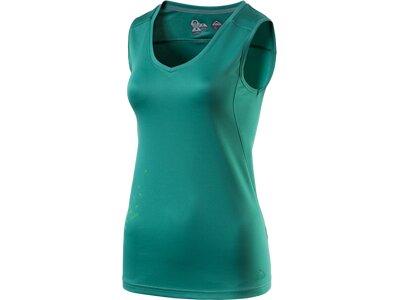 McKINLEY Damen Shirt D-Top Mana Grün
