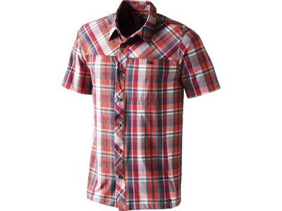 McKINLEY Herren Hemd Hemd Bamako Rot
