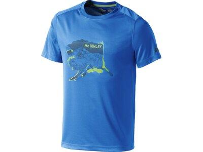 McKINLEY Herren Shirt T-Shirt Lafia Blau