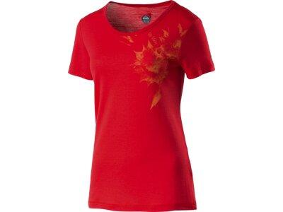 McKINLEY Damen Shirt D-T-Shirt Bafia Rot
