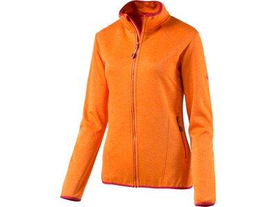 """McKINLEY Damen Fleecejacke """"Roto II"""" Orange"""