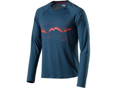 McKINLEY Herren Shirt H-T-Shirt Piha Blau
