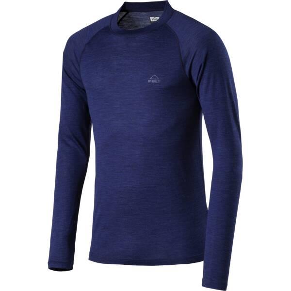 McKINLEY Herren Unterhemd Riku Blau