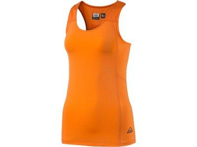 McKINLEY Damen Shirt Damen Top Ponca sls Orange