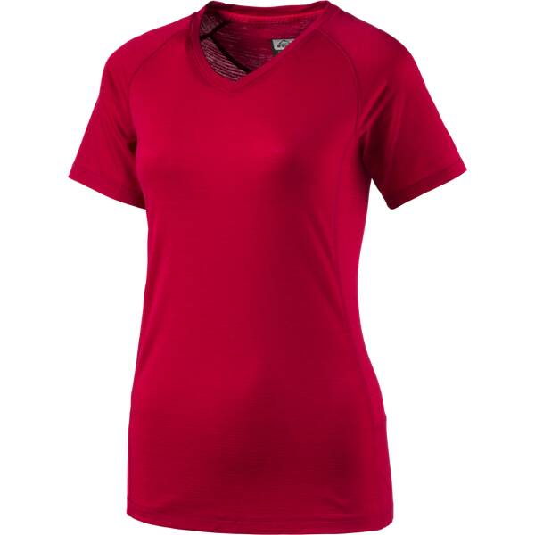 McKINLEY Damen Shirt Damen T-Shirt Tupelo Rot
