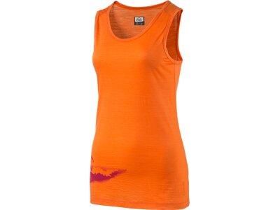 McKINLEY Damen Shirt Ada sls Orange