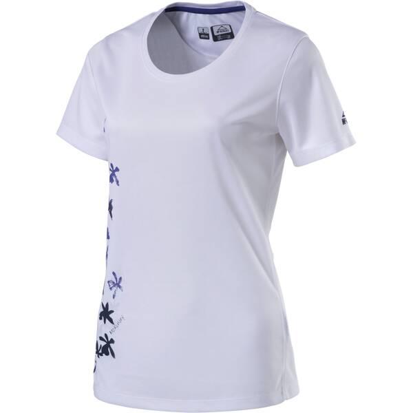 McKINLEY Damen Funktionsshirt / T-Shirt Solano Weiß