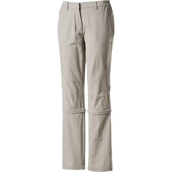 McKINLEY Damen Wanderhose / Zip-Off-Hose Mendoran II Grau