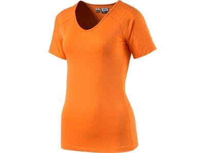 McKINLEY Damen Shirt Damen T-Shirt Sedan Orange