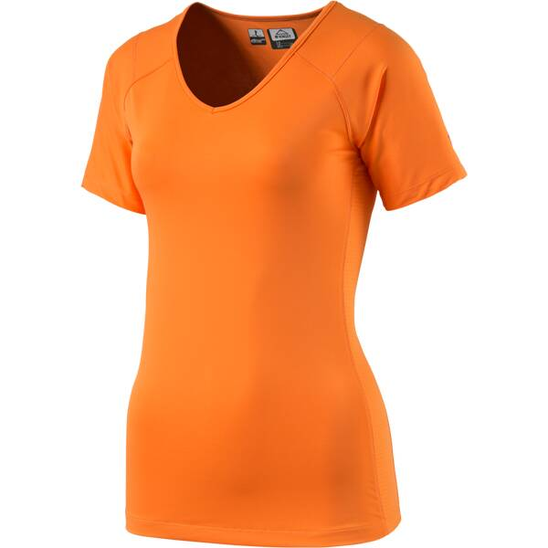 McKINLEY Damen Shirt Damen T-Shirt Sedan Orange