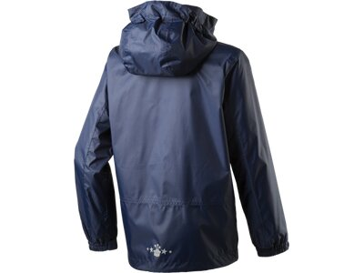 McKINLEY Kinder Regenjacke Castellic Blau