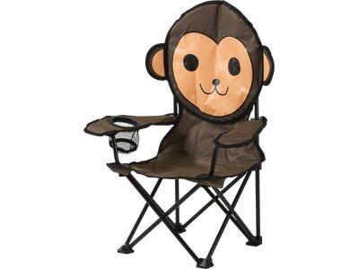 McKINLEY Campingteil Faltstuhl Kids Animal Head Chair Braun