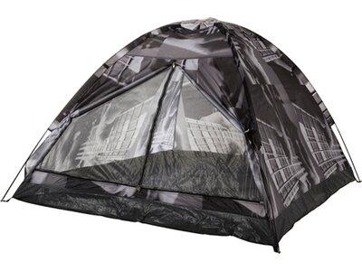 McKINLEY Zelt Campingzelt Monodome 3 Print Grau