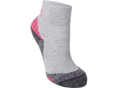 McKINLEY Herren Outdoor-Socken Flo Quarter Grau
