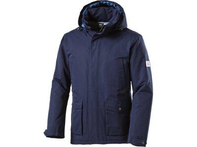McKINLEY Herren Mantel Herren Kapuzen Outdoor-Jacke Trapper Blau