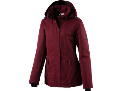 McKINLEY Damen Kapuzen Outdoor-Mantel Taylor Rot