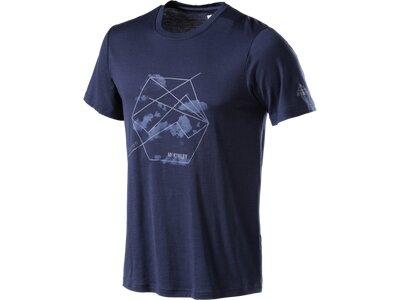 McKINLEY Herren Shirt Gakona Blau