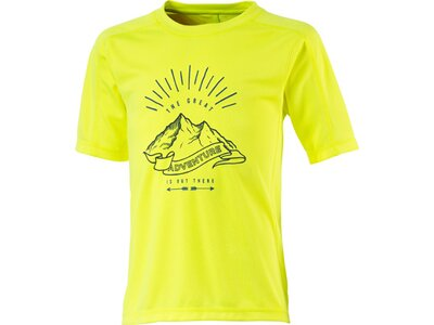 McKINLEY Kinder Shirt K-T-Shirt Carli Gelb