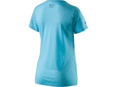 McKINLEY Damen T-Shirt Halawa Blau