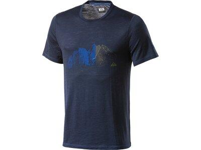 McKINLEY Herren T-Shirt Halawa Blau