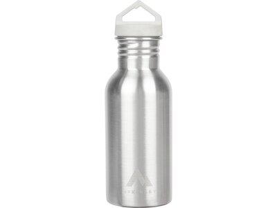 McKINLEY Trinkflasche EDELSTAHL 0.5 Silber