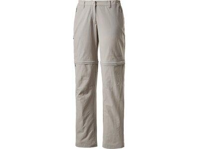 McKINLEY Damen Hose Doran Kurzgröße Grau
