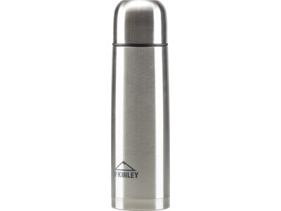 McKINLEY Isolierflasche STAINLESS STEEL DOUBLE 0. Silber