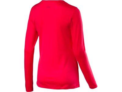 McKINLEY Damen Shirt D-T-Shirt Kara Rot