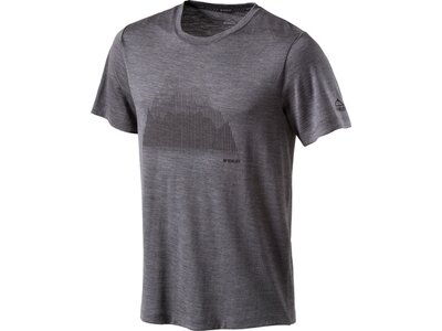 McKINLEY Herren Shirt H-T-Shirt Korrum Grau