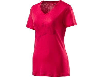 McKINLEY Damen Shirt D-T-Shirt Korrum Pink
