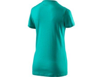 McKINLEY Damen Shirt D-T-Shirt Korrum Blau