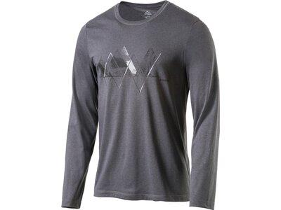 McKINLEY Herren Hemd H-T-Shirt Aravalli Grau