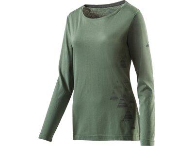McKINLEY Damen Hemd D-T-Shirt Aravalli Grün